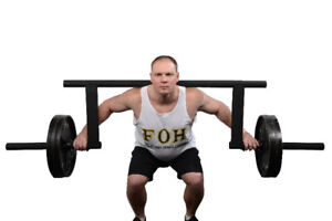 """Cambered Squat Bar- Olympic 2""""- 20% off Summer Sale"""