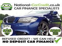 BMW 318 2.0 318d SPORT PLUS EDITION Good / Bad Credit Car Finance (blue) 2011