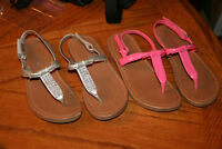 2 Pair girls Smart fit Sandals