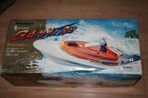 RC  Gamma Ray  Boat