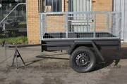 Brand New 6 x 4 Box Trailer with 2Ft or 3Ft Cage@ 600 GVM North Geelong Geelong City Preview