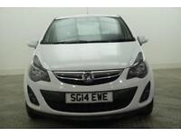 2014 Vauxhall Corsa SXI AC ECOFLEX S/S Petrol white Manual