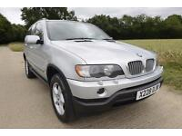 2001 BMW X5 4.4 V8 AUTO 79K MILES! BEST ENGINE FOR TOWING! TOW BAR 4X4 not 3.0