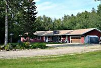 Check out this Amazing Acreage in Rural Brazeau County