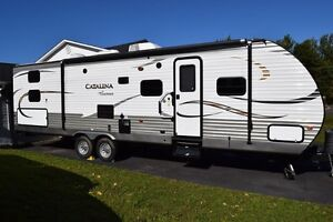 "LIKE NEW 34.5"" 2014 COACHMEN CATALINA WITH BUNK HOUSE!!"