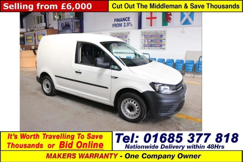 2016 16 Volkswagen Caddy C20 Startline 2 0tdi 102ps Van Guide Price