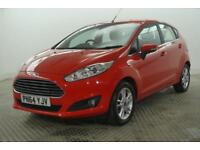2014 Ford Fiesta ZETEC TDCI Diesel red Manual