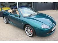 TROPHY CARS MGF MGTF 80TH ANNIVERSARY,ONLY 39000 MLS,RARE CAR,NEW HEADGASKET,RAC