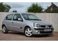 Renault Clio 1.2 16v 75 ( a/c ) Campus Sport ONLY 55K FSH LOW TAX LOW INSURANCE