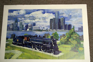"""The Spirit of Windsor"" Ltd. Ed. Lithograph Print *NEW PRICE* Windsor Region Ontario image 6"