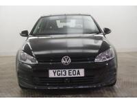 2013 Volkswagen Golf SE TDI BLUEMOTION TECHNOLOGY Diesel black Manual