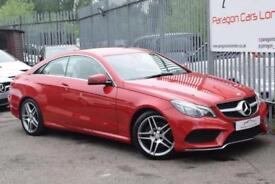 2014 Mercedes-Benz E Class E250 Coupe 2.1CDi 204 SS AMG Line 7GT+ Diesel red Aut