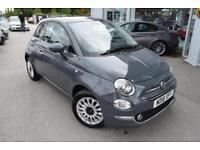 2018 Fiat 500 1.2 Lounge (s/s) 3dr Petrol Manual