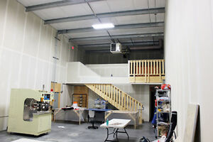 Small Bays for lease +/- 1,680 SF Bays with sump and heavy power