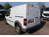 2008 Ford Transit Connect Low Roof Van L TDCi 75ps Diesel white Manual