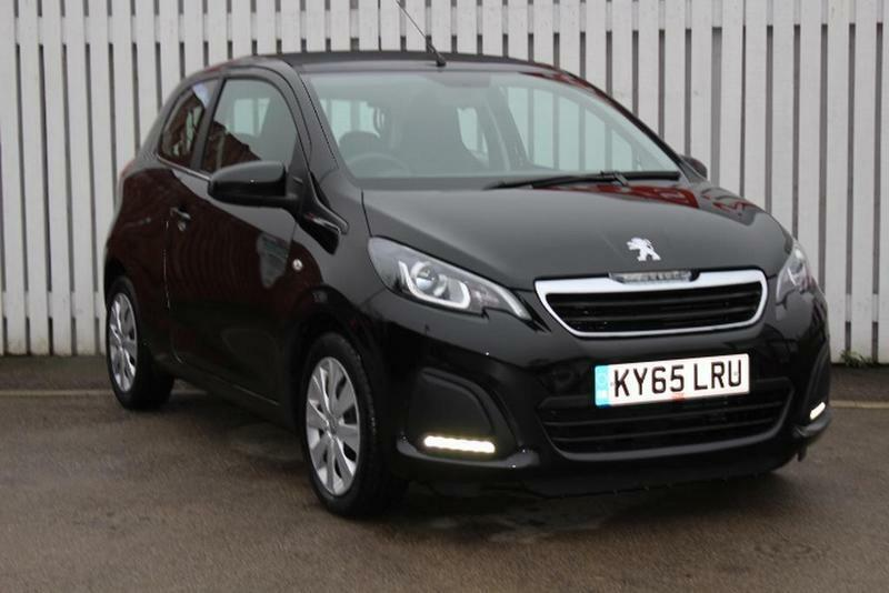 peugeot 108 1 0 active 3 door start stop black 2015 in bletchley buckinghamshire gumtree. Black Bedroom Furniture Sets. Home Design Ideas