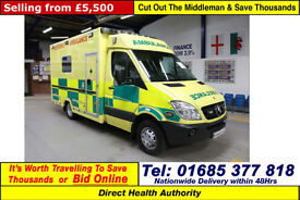2009 - 09 - MERCEDES SPRINTER 518 3.0 CDI AMBULANCE / CAMPER (GUIDE PRICE)