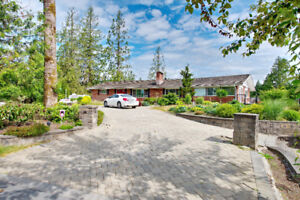 EXQUISITE executive home on 5 acres of ALR land (Mission)
