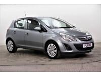 2011 Vauxhall Corsa EXCITE AC Petrol silver Manual