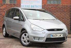 Ford S-MAX 2.0 TDCi 140ps Zetec Manual Diesel 7 Seater MPV in Metallic Silver