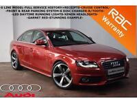 2009 Audi A4 2.0TDI 143bhp S Line-FULL SERVICE HISTORY-F+R PARKING SYSTEM-