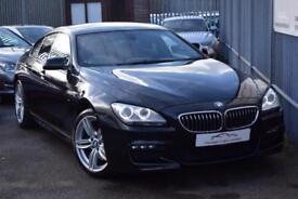 2013 BMW 6 Series 640 Gran Coupe 3.0d 313 DPF SS EU5 M Sport Auto8 Diesel black