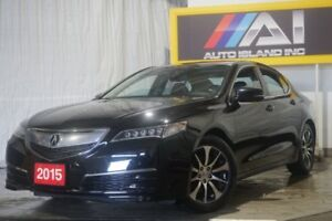 2015 Acura TLX Low KMs,Camera,Bluetooth,FWD