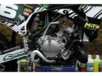 Kawasaki KX 85 Big wheel Motocross bike (only covered 2 hours)