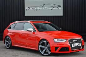2014 Audi RS4 Avant 4.2 V8 *Sports Pack + Driver Assistance Pack+Pan Roof + B&O