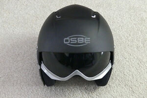 OSBE Majic Ski Helmet with Integrated Lens