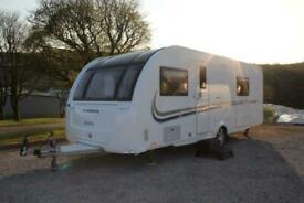 2015 Adria Isonzo 613 8ft Wide 4 Berth Transverse Island Bed Caravan Immaculate