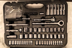 Taskforce 60+ Piece Ratchet and Socket Set