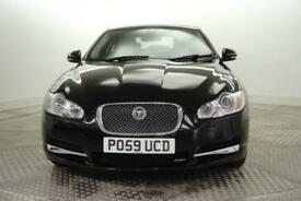 2009 Jaguar XF V6 LUXURY Diesel black Automatic