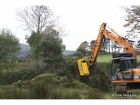 Flail Excavator Head for sale