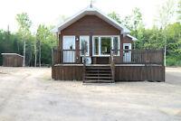 Chalet à louer au Lac Gamelin, Hébertville