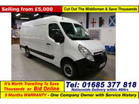 2011 - 11 - VAUXHALL MOVANO L3H2 EURO5 2.3CDTI 100PS LWB VAN (GUIDE PRICE)
