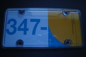 CLEAR LICENSE PLATE COVER