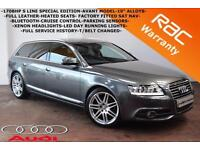 2011 Audi A6 Avant 2.0TDI 170BHP S Line Special Edition -SAT NAV-HEATED LEATHER-