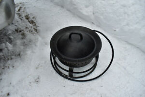 Portable Gas Fire Bowl