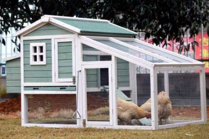 LARGE Chicken Coop , Rabbit Guinea Pig Hutch Ferret House -AMY