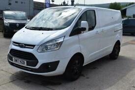 2017 Ford Transit Custom 270 LIMITED AUTOMATIC LOW MILES EURO 6 SPORT STYLED WHI