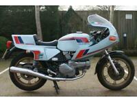 DUCATI 500 SL PANTAH 1982 (X) DUCATI 500 SL PANTAH IN BLUE