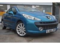 BAD CREDIT CAR FINANCE AVAILABLE 2008 Peugeot 207 CC 1.6 120 Coupe GT