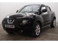 2012 Nissan Juke ACENTA Petrol black Manual