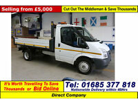 2011 - 61 - FORD TRANSIT T350 2.4TDCI 115PS SINGLE CAB TIPPER (GUIDE PRICE)