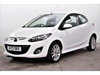2013 Mazda 2 SPORT Petrol white Manual