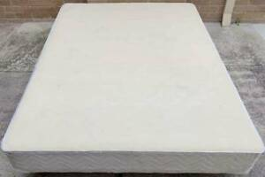 Excellent white queen bed base only for sale #5. Delivery option avail