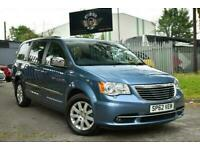 2012 Chrysler Grand Voyager 2.8 CRD LIMITED 5d 161 BHP MPV Diesel Automatic