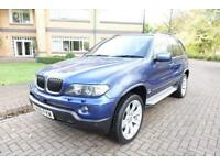2006 BMW X5 3.0d Auto 2005MY Le Mans Blue Sport Edition Right Hand Drive
