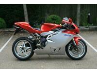 MV Agusta F4 1000 S low mileage stunning example Italian superbike